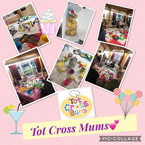 Tot Cross Mums event.